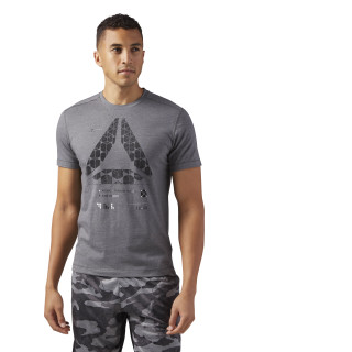 Speedwick Graphic T-Shirt Dark Grey Heather CF3738