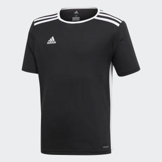 Camiseta ENTRADA 18 Niños BLACK/WHITE CF1041