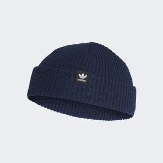 Trefoil Fisherman Beanie Collegiate Navy D98949