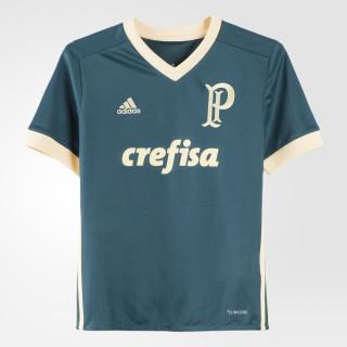 Camisa Palmeiras 3 Infantil MYSTERY GREEN S17/EASY YELLOW S17 BK1356
