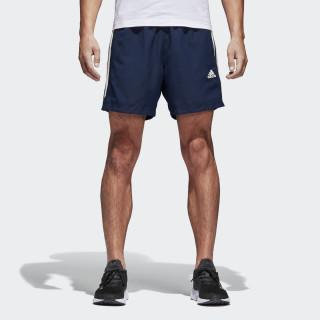 Pantaloneta Tres Rayas Sport Essentials Chelsea COLLEGIATE NAVY/OFF WHITE BQ0759
