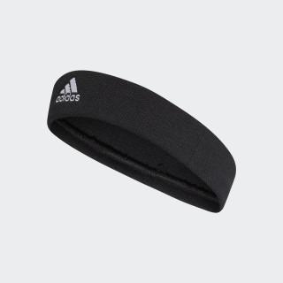 Tennis Headband Black/White CF6926