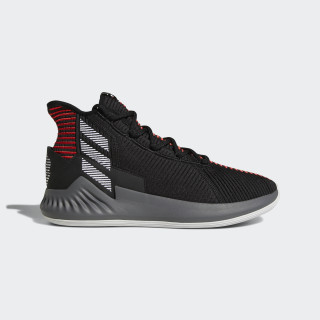 D Rose 9 Shoes Core Black / Ftwr White / Scarlet AQ0039