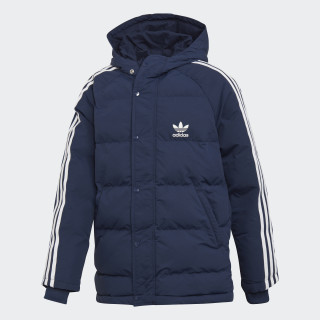 Trefoil Synthetic Donsjack Collegiate Navy / White DH2687