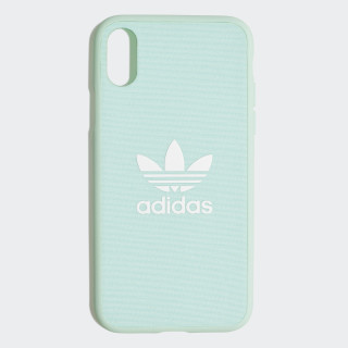 Funda iPhone X Snap Fabric Clear Mint / White CK6182