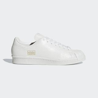 Zapatilla Superstar 80s Clean Ftwr White / Ftwr White / Gold Met. AQ1022
