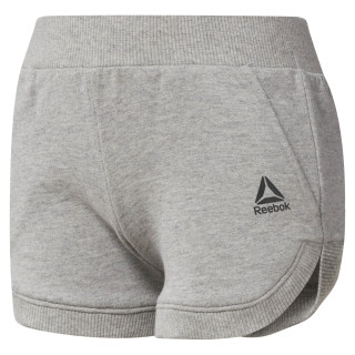 Short Workout Ready French Terry - fille Medium Grey Heather CF4249