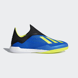 Chuteira X Tango 18+ Futsal FOOTBALL BLUE SUPPLIER COLOR/SOLAR YELLOW/CORE BLACK BB6594