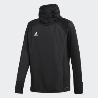 Sudadera Condivo 18 Player Focus Warm Black/White CF4349