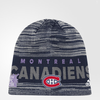 Bonnet Hockey Fights Cancer Canadiens Heathered Multi DB9980