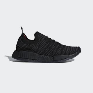 NMD_R1 STLT Primeknit Shoes Core Black/Utility Black/Solar Pink CQ2391