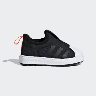 Superstar Winter 360 Shoes Core Black / Core Black / Solar Red B22472