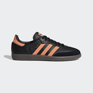 Samba OG Schoenen Core Black / Hi-Res Orange / Gold Met. B75804
