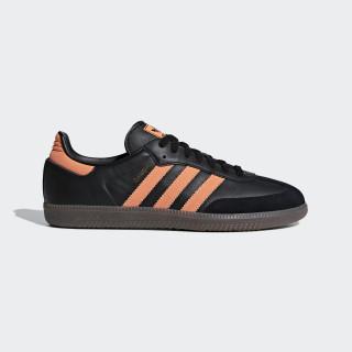 Samba OG Schuh Core Black / Hi-Res Orange / Gold Met. B75804