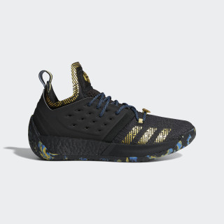 Harden Vol. 2 MVP Shoes Core Black / Gold Met. / Trace Royal F36848