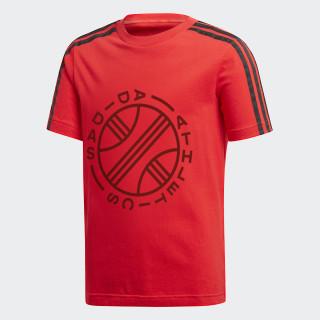ID Graphic T-shirt Vivid Red DJ1637