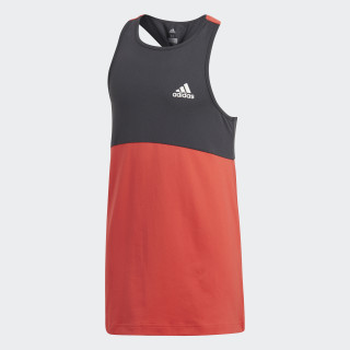 Training Wow Tank Top Real Coral/Carbon CF7188