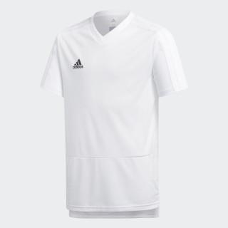 Camiseta entrenamiento Condivo 18 White/Black CG0372