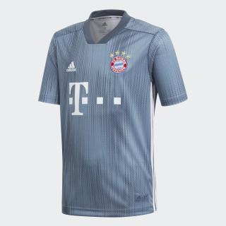 Camiseta Tercer Uniforme FC Bayern Réplica RAW STEEL S18/UTILITY BLUE/WHITE DP5451