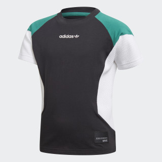 Camiseta L Eqt BLACK/WHITE/SUB GREEN D98872