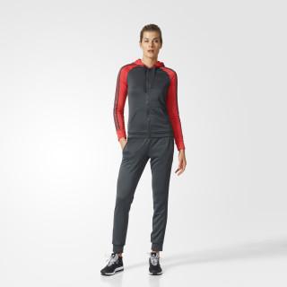 Pants con Sudadera Marker Adidas Mujer DGH SOLID GREY/CORE PINK BK4688