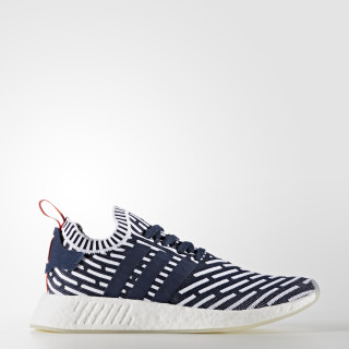 NMD_R2 Primeknit Shoes Collegiate Navy / Collegiate Green / Cloud White BB2909