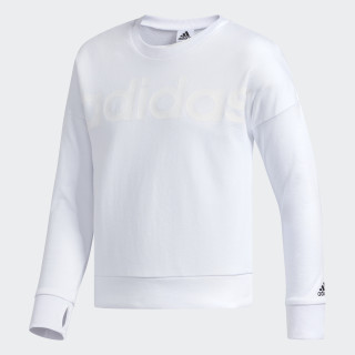 Cropped Sweatshirt White CK5130