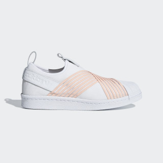 Sapatos Superstar Slip-on Ftwr White / Clear Orange / Ftwr White D96704