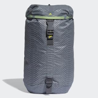 Small Adizero Backpack Mid Grey / White / Shock Yellow DM3438