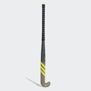 LX24 Carbon Hockey Stick Brown /  Shock Yellow  /  Ash Silver CY1692