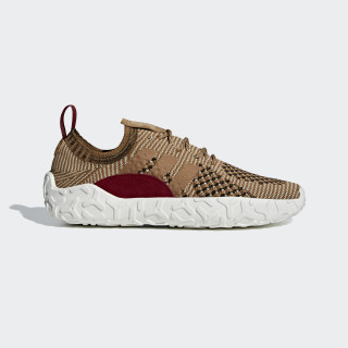 F/22 Primeknit Shoes Brown / Raw Desert / Collegiate Burgundy B41736