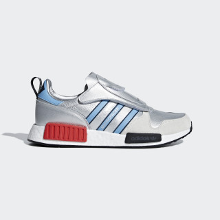 Micropacer x R1 Shoes Silver Met. / Light Blue / Ftwr White G26778