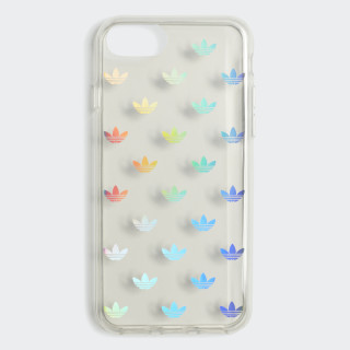 Coque Clear iPhone 8 Silver Metallic CK6142