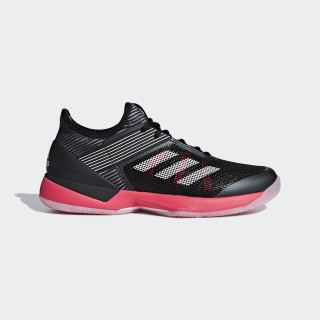Adizero Ubersonic 3.0 Shoes Core Black / Cloud White / Shock Red G26299