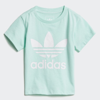 Trefoil T-Shirt Clear Mint / White D96101