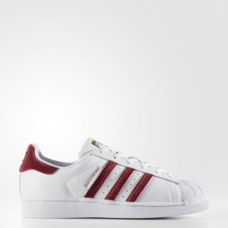 Superstar Shoes Cloud White / Collegiate Burgundy / Cloud White AC7162