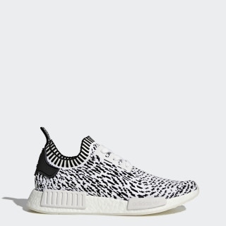 Sapatos NMD_R1 Primeknit Footwear White/Core Black BZ0219