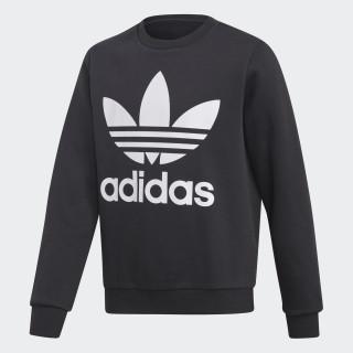 Fleece Sweatshirt Black / White DH2705