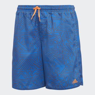 Graphic Schwimmshorts Blue / Hi-Res Orange DJ2161