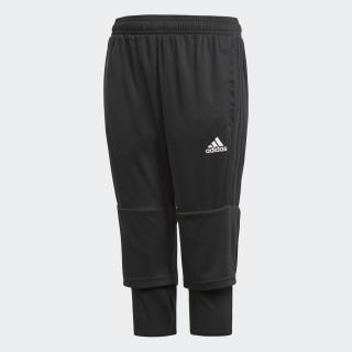 Tiro 17 Three-Quarter Pants Black / White AY2881