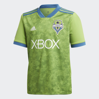 Seattle Sounders FC Home Jersey Rave Green / Capital Blue CD3694
