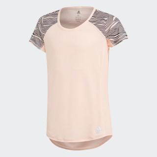Camiseta Running Clear Orange / Carbon DJ1097