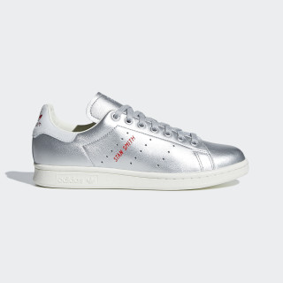 Chaussure Stan Smith Silver Met. / Silver Met. / Blue Tint B41750