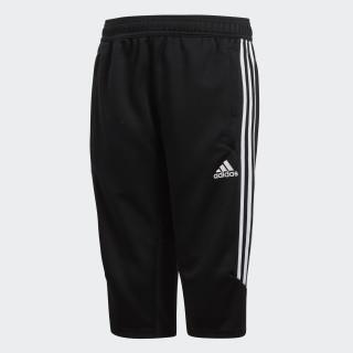 Tiro17 Three-Quarter Pants Black / White BS3707