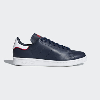 Stan Smith Shoes Collegiate Navy / Collegiate Navy / Scarlet B37912