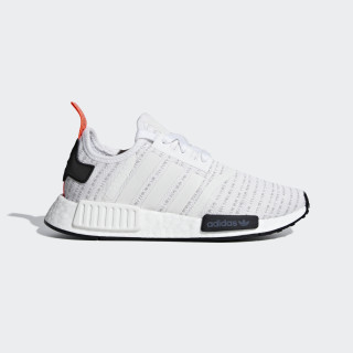 NMD_R1 Shoes Cloud White / Cloud White / Solar Red F35838