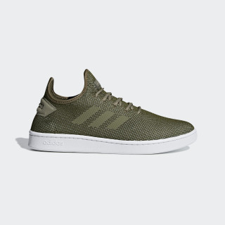 Court Adapt Shoes Green /  Raw Khaki  /  Trace Cargo F36420