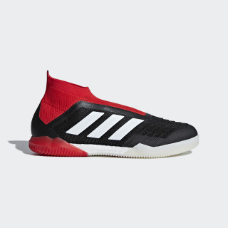 Predator Tango 18+ IN Fußballschuh Core Black / Ftwr White / Red DB2054