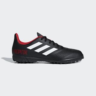 Calzado de fútbol Predator Tango 18.4 Césped Artificial Niño CORE BLACK/FTWR WHITE/RED DB2338