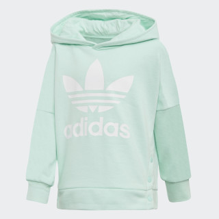 Sudadera con Gorro Snap CLEAR MINT/WHITE D98882